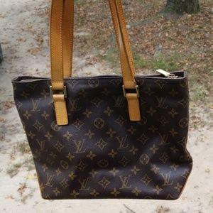 Louis Vuitton cabas piano bag nice authentic